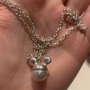 Disney Mickey Pearl Necklace